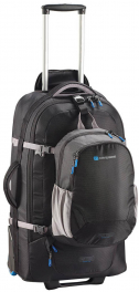 Сумка-рюкзак на колесах Caribee Fast Track 75 VI Black 926979