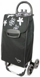 Сумка-тележка Aurora Avanti 4 Basic 50 Black/Grey Flower 926879
