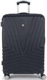 Пластиковый чемодан Gabol Atlanta (L) Grey 927021