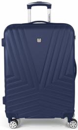 Пластиковый чемодан Gabol Atlanta (M) Blue 927016