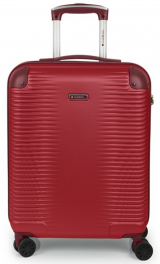 Легкий пластиковый чемодан Gabol Balance (S) Red 924576