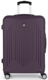 Пластиковый чемодан Gabol Clever (M) Purple 927053