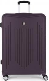 Пластиковый чемодан Gabol Clever (L) Purple 927054