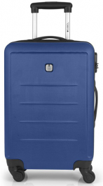 Пластиковый чемодан Gabol Malibu (XS) Blue 927032