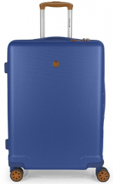 Пластиковый чемодан Gabol Mosaic (M) Blue 927008