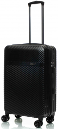 Чемодан из поликарбоната V&V Travel CTH 021-65 black