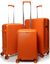 Комплект из 3-х чемоданов V&V Travel PC023 orange