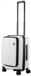 Белый чемодан из поликарбоната Lojel Cubo 18 Lj-CF1627-1S_W