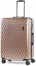 Пластиковый чемодан Rock Allure (L) Pink 927126