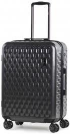 Пластиковый чемодан Rock Allure (M) Charcoal 927129