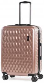 Пластиковый чемодан Rock Allure (M) Pink 927125