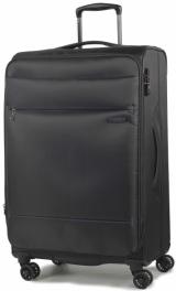 Легкий чемодан Rock Deluxe-Lite (M) Black 924782