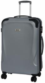 Пластиковый чемодан Rock Lunar (M) Silver 927133