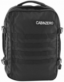 Сумка-рюкзак CabinZero MILITARY 28L/Absolute Black Cz19-1401