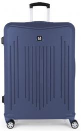 Пластиковый чемодан Gabol Clever (L) Blue 927340