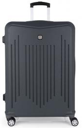 Пластиковый чемодан Gabol Clever (L) Grey 927344
