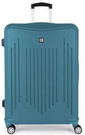 Пластиковый чемодан Gabol Clever (L) Turquoise 927005