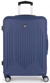 Пластиковый чемодан Gabol Clever (M) Blue 927339
