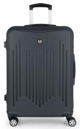 Пластиковый чемодан Gabol Clever (M) Grey 927343