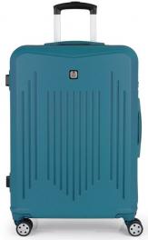 Пластиковый чемодан Gabol Clever (M) Turquoise 927004