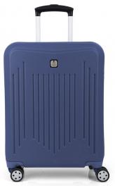 Пластиковый чемодан Gabol Clever (S) Blue 927338