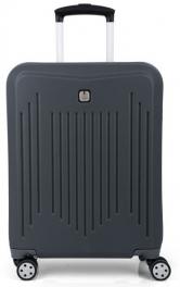 Пластиковый чемодан Gabol Clever (S) Grey 927342