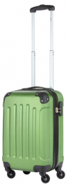 Пластиковый чемодан TravelZ Light (S) Khaki/Green 927246