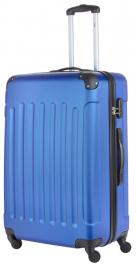 Пластиковый чемодан TravelZ Light Triple (L) Navy Blue 927252
