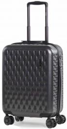 Пластиковый чемодан Rock Allure (S) Charcoal 927128