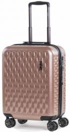 Пластиковый чемодан Rock Allure (S) Pink 927124