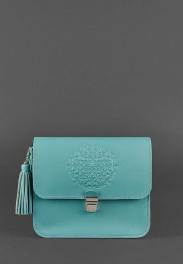Кожаная женская бохо-сумка Blanknote Лилу BN-BAG-3-TIFFANY