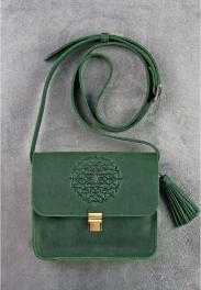 Кожаная женская бохо-сумка Blanknote Лилу BN-BAG-3-BAG-3-IZ-MAN