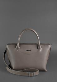 Кожаная женская сумка Blanknote Midi BN-BAG-24-BEIGE