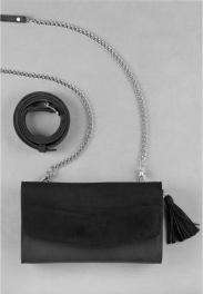 Кожаная сумка на пояс Blanknote Элис BN-BAG-7-G-VELUR