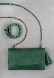 Кожаная сумка на пояс Blanknote Элис BN-BAG-7-IZ