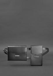Кожаная сумка на пояс Blanknote Mini BN-BAG-38-G