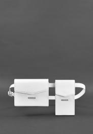 Кожаная сумка на пояс Blanknote Mini BN-BAG-38-LIGHT