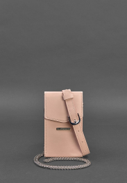 Кожаная сумка на пояс Blanknote Mini BN-BAG-38-1-PINK