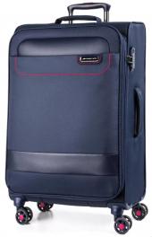 Легкий чемодан March Tourer 2601;04 синий