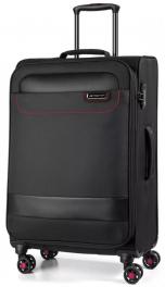 Легкий чемодан March Tourer 2602;07 черный