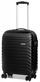 Пластиковый чемодан Roncato Fusion 419453;01 черный