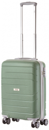 Чемодан из полипропилена TravelZ Big Bars (S) Olive Green 927269