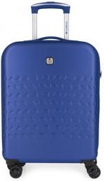 Пластиковый чемодан Gabol Duke (S) Blue 927958