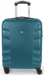 Пластиковый чемодан Gabol London (S) Turquoise 927966