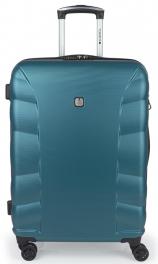 Пластиковый чемодан Gabol London (M) Turquoise 927967