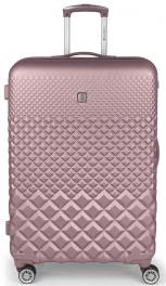 Пластиковый чемодан Gabol Oporto (L) Pink 927964