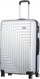 Пластиковый чемодан Carlton Zigzag ZIGZAGT79;SIL