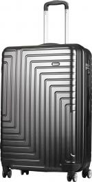 Пластиковый чемодан Carlton Zigzag ZIGZAGT79;BLK