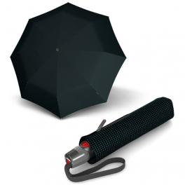 Зонт автомат Knirps T.200 Medium Duomatic Black Kn9532007057