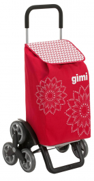 Сумка-тележка Gimi Tris 56 Floral Red 928420